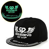 Cветящаяся  черная кепка Bigbang Im`Vip