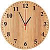 """Настенные часы """"Светлое дерево"""""""