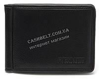 Стильный надежный зажим для денег с отделениями для карт и документов FUERDANNI art. 4518 черный