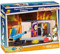 Конструктор Захват Форт-Нокс, серия The Penguins of Madagascar, Cobi (COBI-26152)