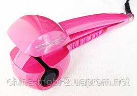 Плойка-стайлер для волос babyliss pro perfect curl, PINK, фото 3