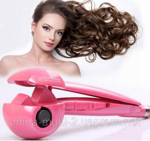 Плойка-стайлер для волос babyliss pro perfect curl, PINK, фото 2
