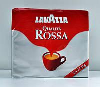 """Итальянский молотый кофе """"Lavazza"""" Rossa 250 г"""