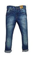 Стильные джинсы универсальные Minoti Царапка 9679 (р.98,104)