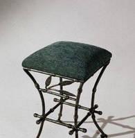 Кованный стул бамбук