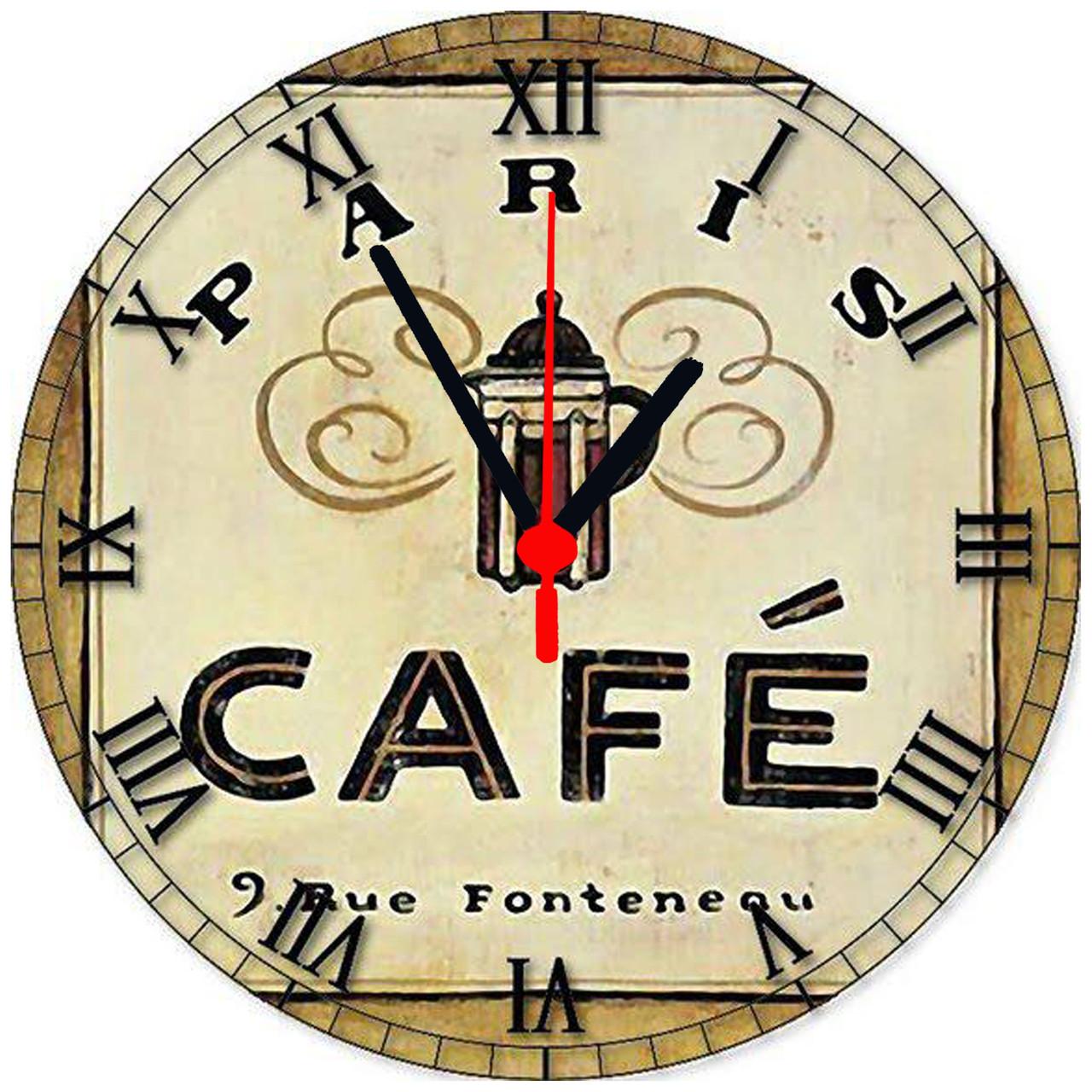 """Настенные часы """"CAFE"""""""