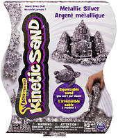 Песок для детского творчества - KINETIC SAND METALLIC (серебряный, 454 г) (71408S), фото 1