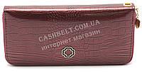 Женский лаковый кошелек барсетка вишневого цвета SACRED art.9015