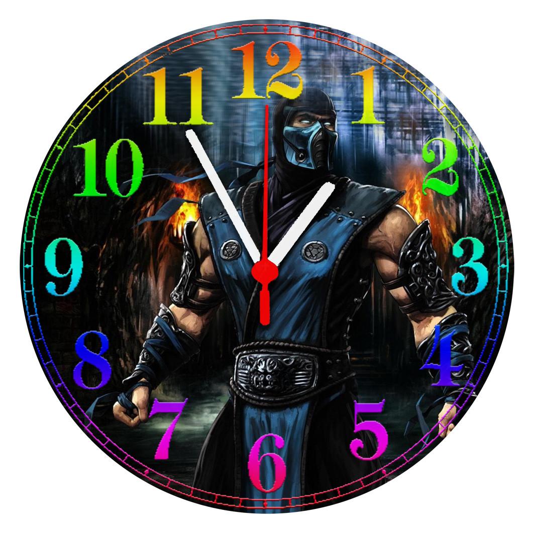 """Настенные часы """"Mortal"""" Стекло"""