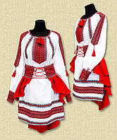 Вишиванка для дівчинки, вышиванка для девочки, костюм, вишитий костюм, фото 1