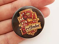Значок герб Гриффиндор из Гарри Поттера