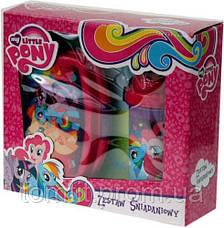 """Набор """"My Little Pony (Пони)"""". Ланч бокс (ланчбокс) + бутылка с трубочкой, фото 3"""
