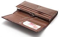 Практичный женский  кошелек коричневого цвета WEIAN art.3701