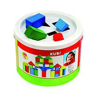 Деревянные кубики в ведре Bino 30 деталей 84195 (84195)