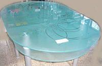 Стеклянный стол кухонный С-37