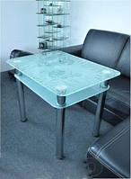 Столы обеденные стекло