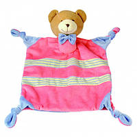 Игрушка платочек - Медведь 28*25*7см (86465)