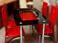 Стол стеклянный - покраска