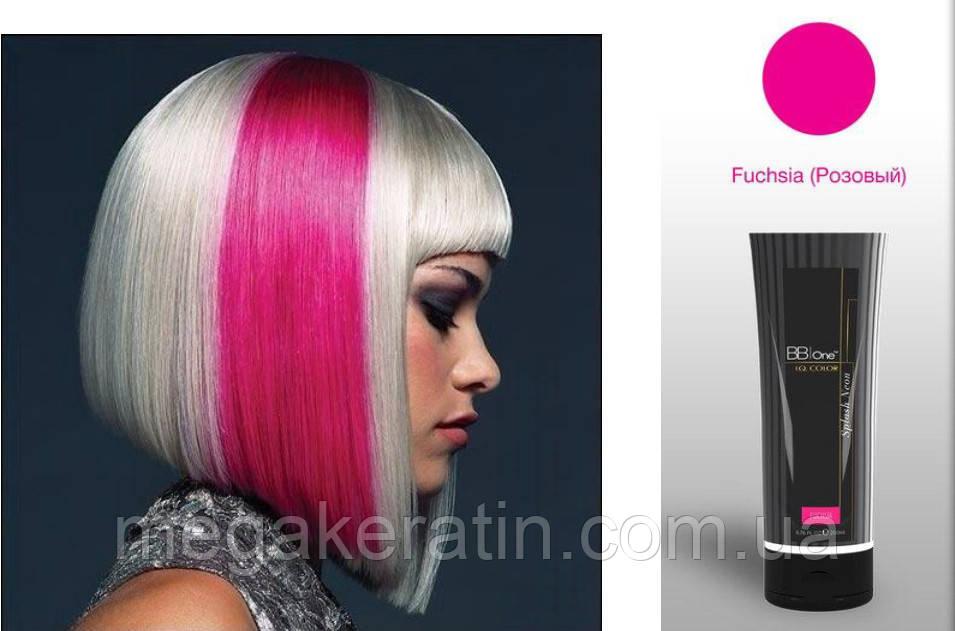 """Прямой краситель ярко-розовый I.Q.Splash Neon """"Fucsia"""" 200мл"""