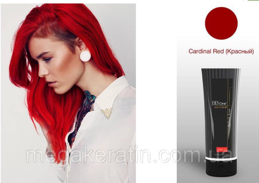 """Прямой краситель красный I.Q.Splash Neon """"Cardinal Red"""" 200мл"""