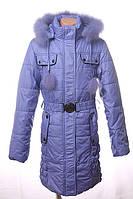 Пальто зимнее для девочек Black&Red, фото 1
