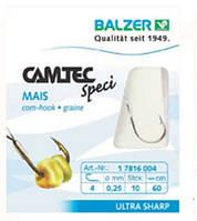Крючок с поводком  Balzer Camtec на кукурузу №6  10шт.