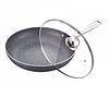 Сковорода Peterhof PH 15448-24 D=24 cм Мраморное покрытие