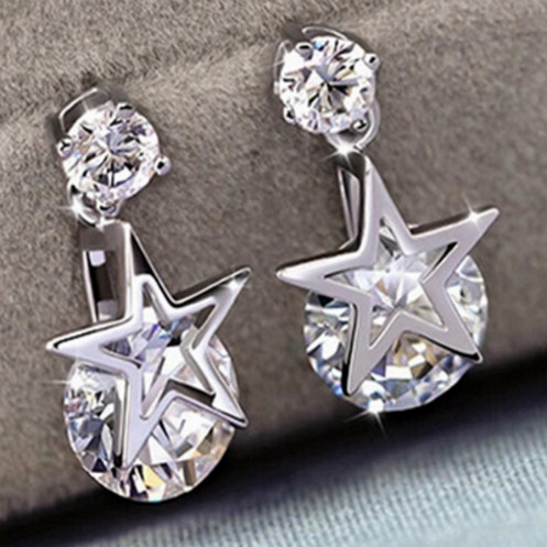 Серьги Style Silver Plated