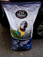 Корм для крупных попугаев Deli Nature 60, 15 кг