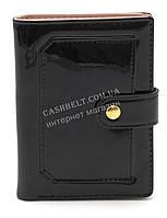 Женский  кошелек малютка черного лакового цвета SACRED art.016