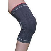 Бандаж для коленного сустава 3D вязка(с силиконовым кольцом и спиральными металлическими ребрами жесткости) Armor ARK9103 размер XL