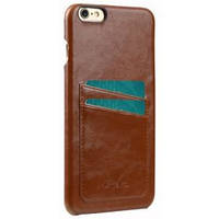 Чехол MELKCO iPhone 6 Plus - M PU Leather Dual Card Brown