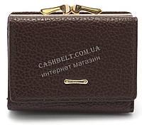 Женский  кошелек матовый коричневого цвета FUERDANI art.1102-1