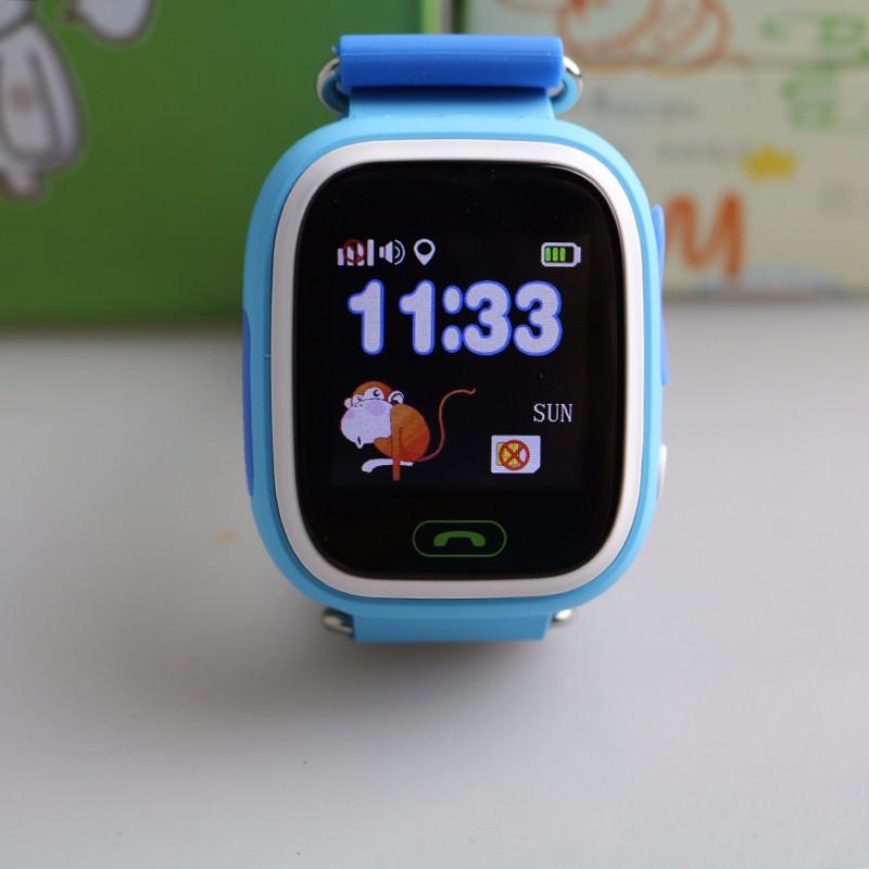 Детские часы-телефон с GPS трекером Q90