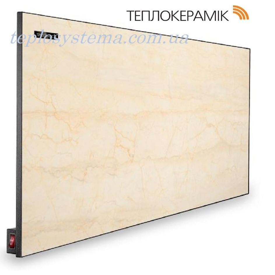 Керамический обогреватель ТЕПЛОКЕРАМИК ТСМ 450 бежевый мрамор (Арт.№ 49733) с выключателем