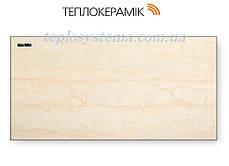 Керамічний обігрівач ТЕПЛОКЕРАМИК ТСМ 450 бежевий мармур (Арт.№ 49733) з вимикачем, фото 2