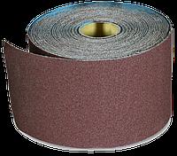 Бумага наждачная 200мм х 50м, №40 на тканевой основе, водостойкая SPITCE