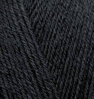 Alize Superwash - 60 черный