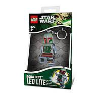 Брелок-фонарик Лего Боба Фетт (Lego Boba Fett), IQ (LGL-KE19-BELL)