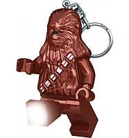 Брелок-фонарик Лего, Звездные войны – Чубакка (Lego, Star Wars – Chewbacca), IQ (LGL-KE60-6-BELL)