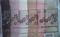 """Полотенца для лица упаковка Cotton Purry """"Sonbahar"""" Турция   хлопок"""