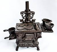 Шикарная коллекционная печь! Миниатюра! Чугун!, фото 1