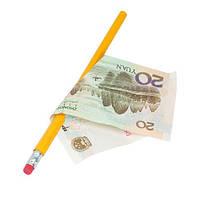 Фокус Пронзание купюры карандашом