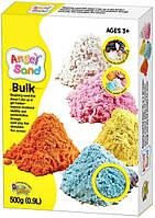 "Песок для творчества ""Angel Sand"" 0,9л голубой, в коробке MA07015 (MA07015)"