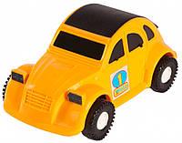 Авто-жучок - машинка, Wader, желтая (39011-4)
