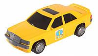 Игрушечная машинка авто-мерс желтый, Wader, желтый (39004-1)