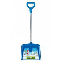 Детская лопатка большая для снега IML, Wader, синяя 70 см (72250-1)