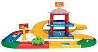Гараж 2 этажа с дорогой 3,4 м Kid Cars, Wader (53020)