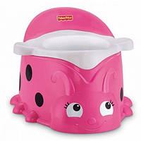 Fisher Price Горшок Божья коровка розовый Ladybug Pink Potty