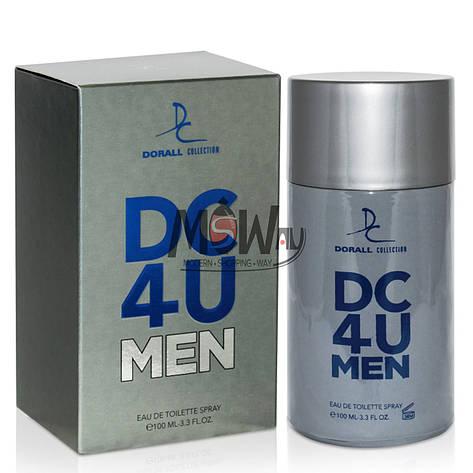 Dorall Collection - DC 4 U Men 100ml мужская туалетная вода (версия CHerrera 212), фото 2
